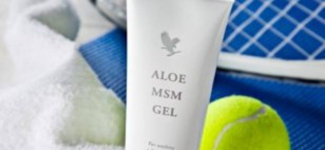 Aloe MSM gel za bolju pokretljivost zglobova